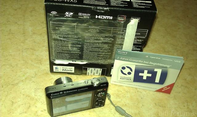 Sony WX 5