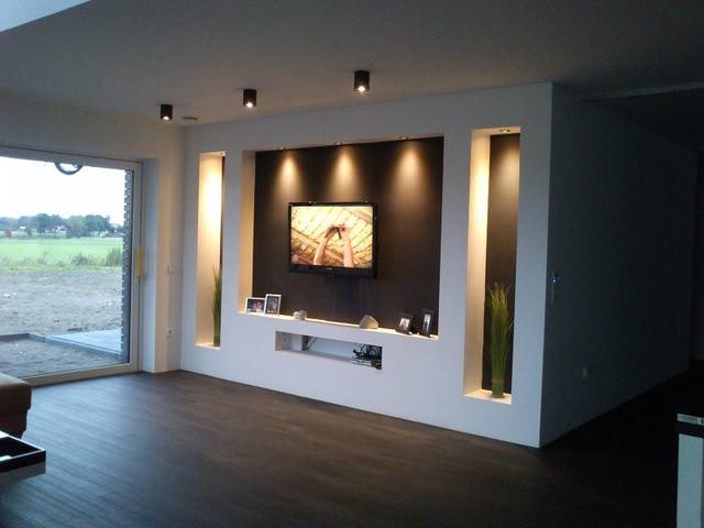 trockenbau wohnwand vorlage hifi bildergalerie. Black Bedroom Furniture Sets. Home Design Ideas