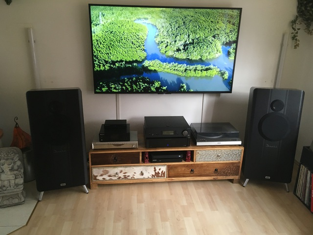 Stereo Setup Heco Direkt 2