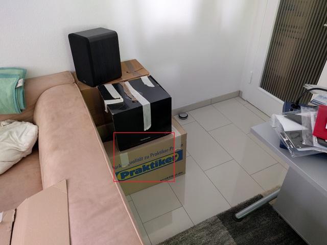 gro es 5 1 system in kleiner 1 zimmer wohnung wie stelle. Black Bedroom Furniture Sets. Home Design Ideas