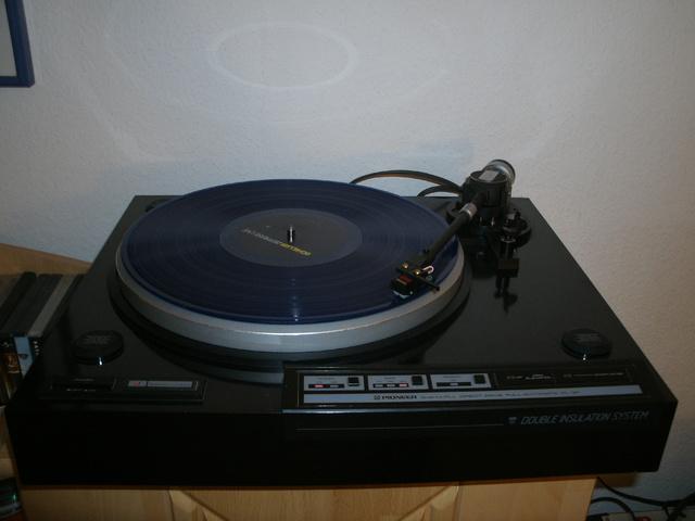 Pioneer PL3F Mit ShureM95