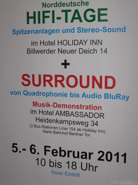 Surroundvorf?hrung Bei Den HIFI-Tagen In HH