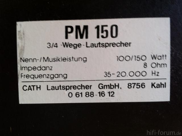 CATH PM 150