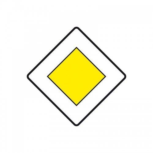 Verkehrsschild Nach Stvo Vorfahrtstrasse