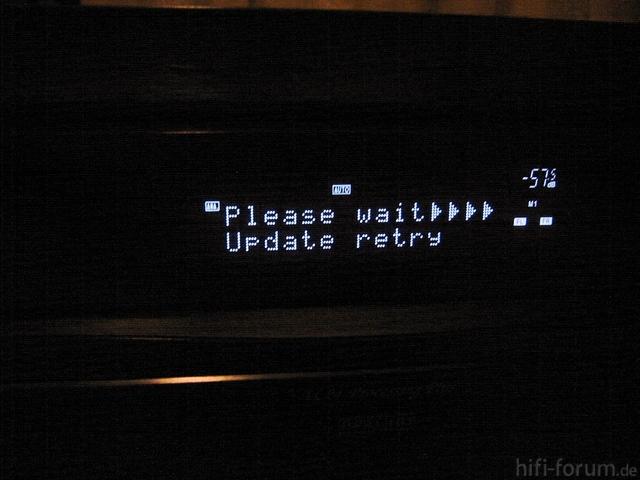Denon AVR-3311 Firmeware_update Fehlgeschlagen!