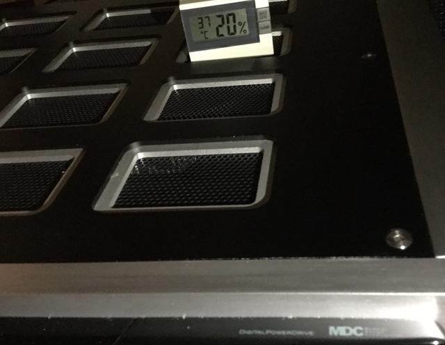 NAD M27 , Betriebstemperatur nach ca.45 Min