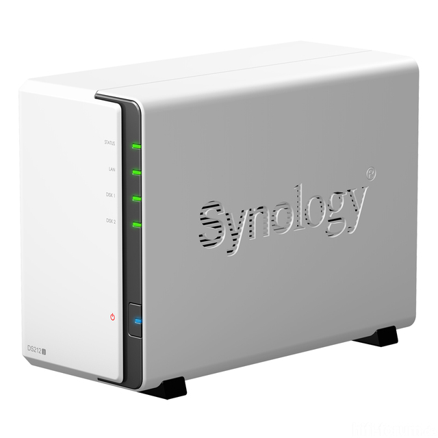 Synology DS212j Network Attached Storage (NAS)
