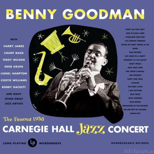 Album Carnegie Hall Jazz Concert