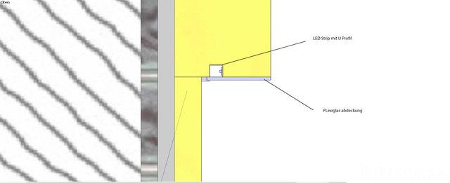 Kellerkino Wand Aufbau Mit Beleuchtung