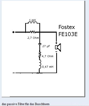Filter FE103E