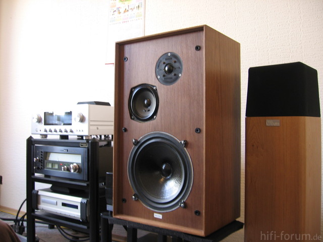 Celestion Ditton 33 Und Ohm Walsh 1000 Am Luxman L 505u 005