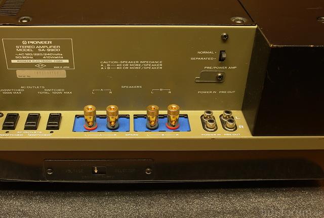 Pioneer SA-9900 Binding Posts