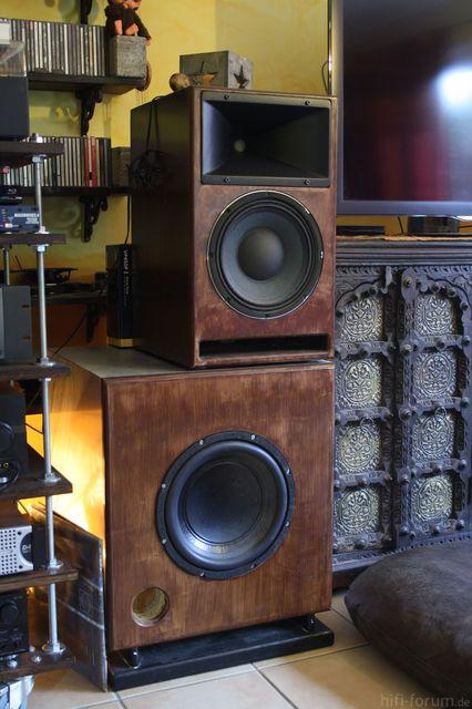Lautsprecher Rustikal