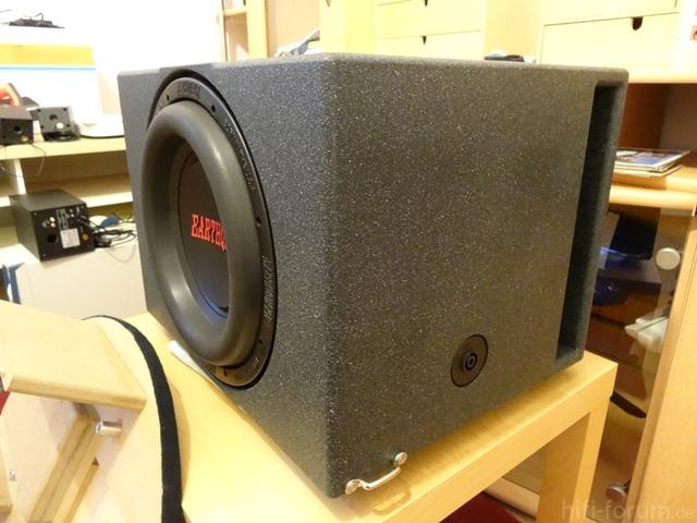 Earthquake sound dbxi-12d 12 dual 4 ohm 1500 watts car subwoofer sub woofer