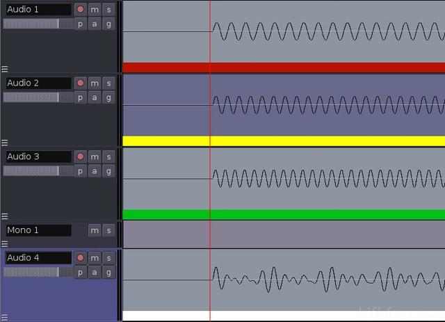 Einzeltoene Und Akkord (Waveform)