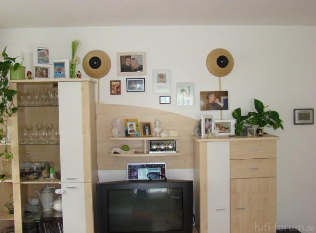 """Die """"Klangschalen"""" Im Wohnzimmer"""