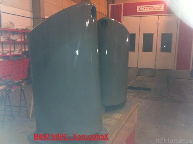 B&W N802 - Gefüllert
