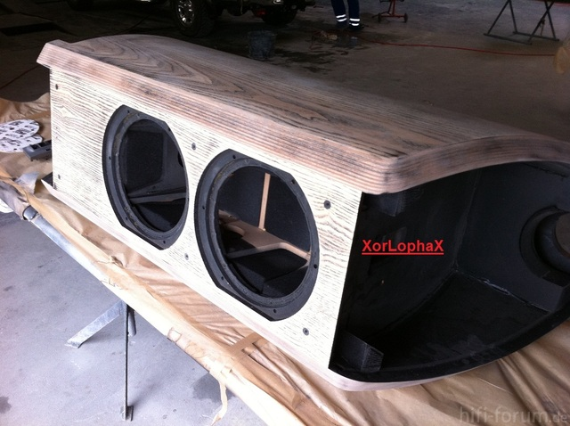 B&W N802 - Geschliffen