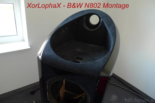 B&W N802 - Montage