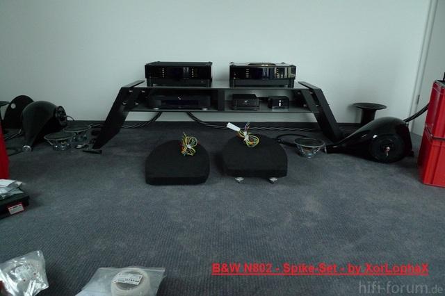 B&W N802 - Spike-Set