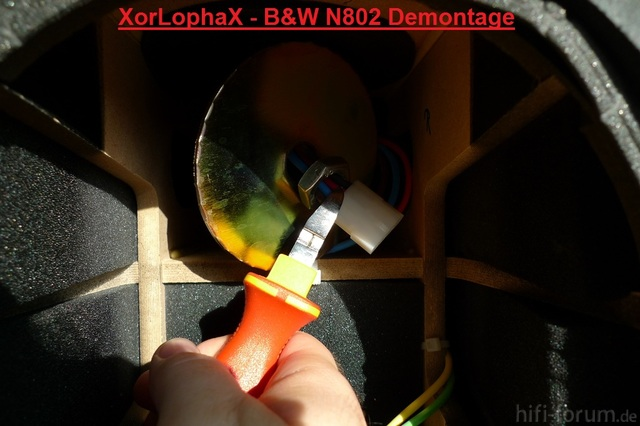 Demontage B&W N802