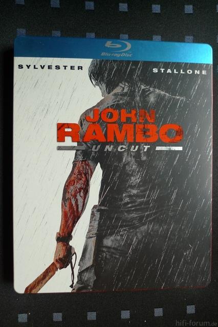 John Rambo Blu-Ray Steelbook