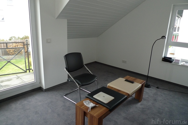 Musikzimmer Vorrübergehende Sitzmöbel