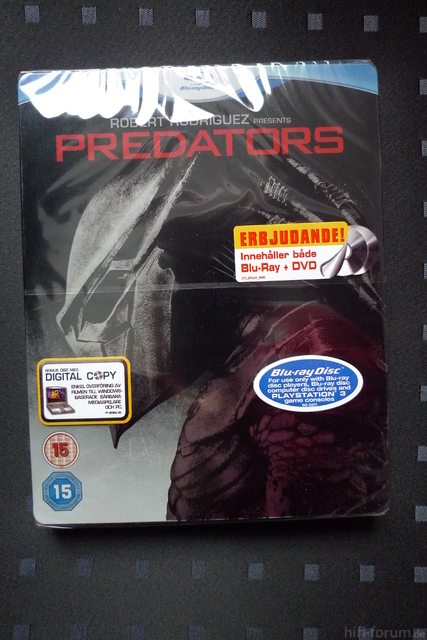 Predators - SE Steelbook