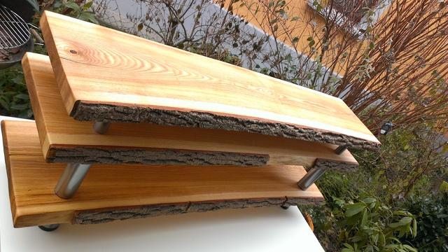 massiv esche lowboard racks geh use hifi forum. Black Bedroom Furniture Sets. Home Design Ideas