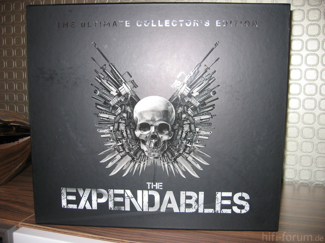 The Expendables (2010) - Limited Edition Blu-ray Media MArkt Exclusiv 1500 STück