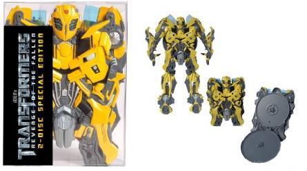 Transformers 2 E28093 Die Rache Limitierte Bumblebee Edition Exklusiv Bei Amazonde Blu Ray
