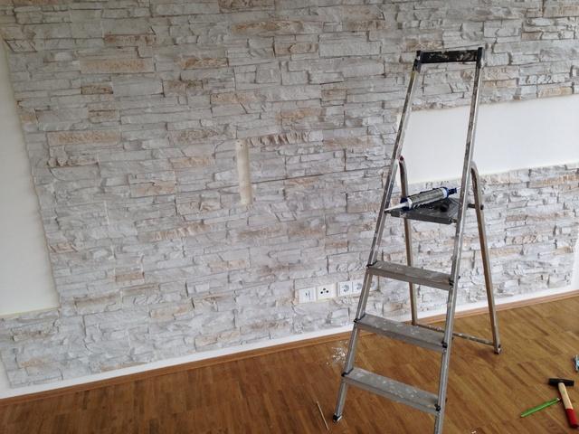 Fliesen überkleben Vorher Nachher bilder eurer steinwände kiesbetten racks gehäuse hifi forum