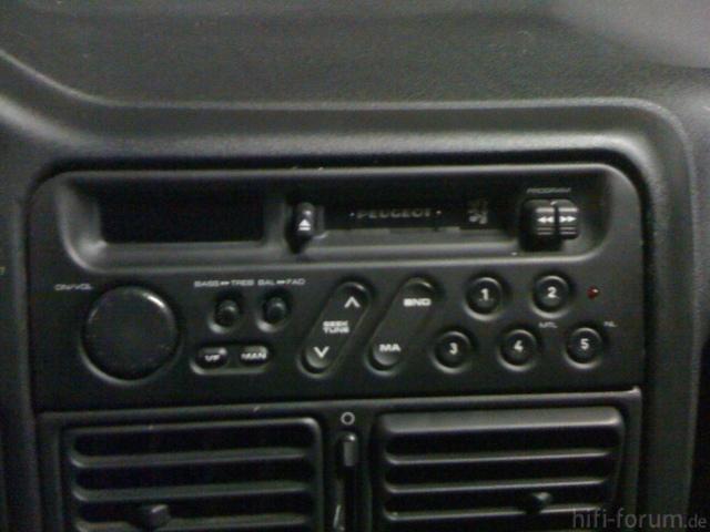 Peugeot 106 Autoradio