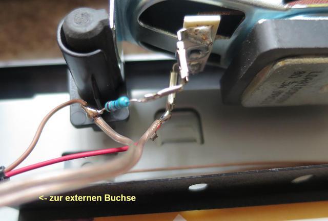 TX-24FSW504 Lautsprecher