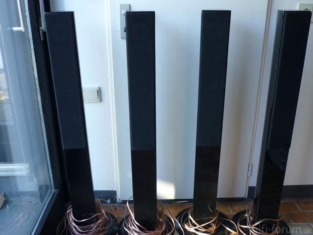 4xSäulenlautsprecher