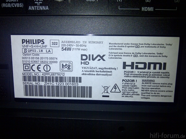 Philips 42PFL6877K