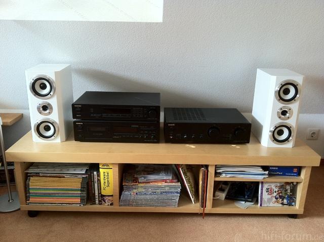 Gesamter Aufbau - Ohne CD-Player