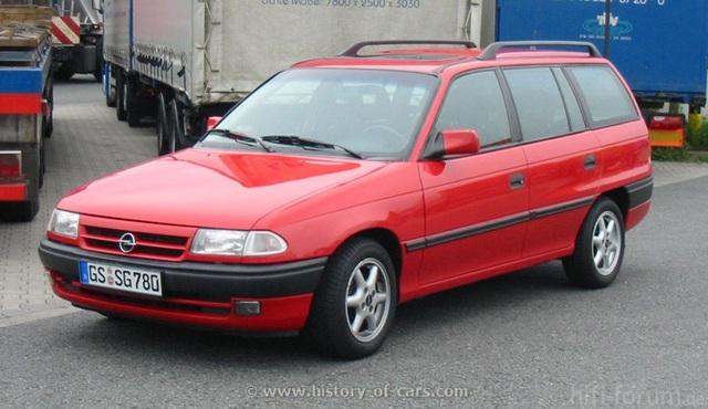 1991 Astra F Caravan 1b