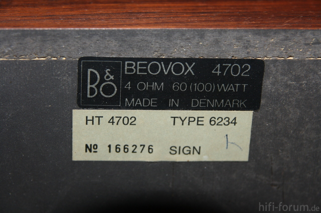 B&O4702 8