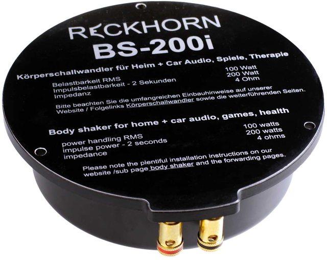 Reckhorn BS 200i