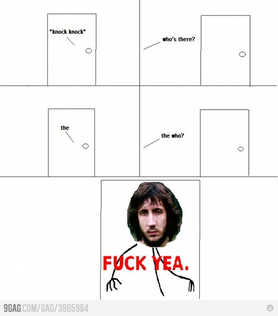 Knock Knock-Level: Pete Townshend (The Who)