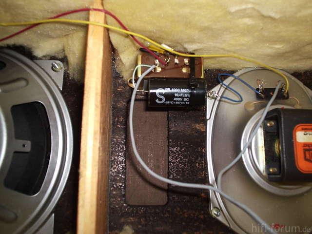 Box Mit Neuem Kondensator