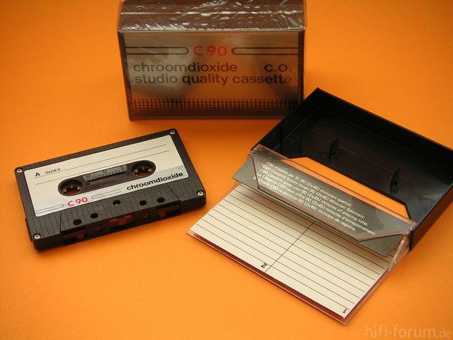 Chroomdioxide CrO2 Studio Qualitiy Cassette
