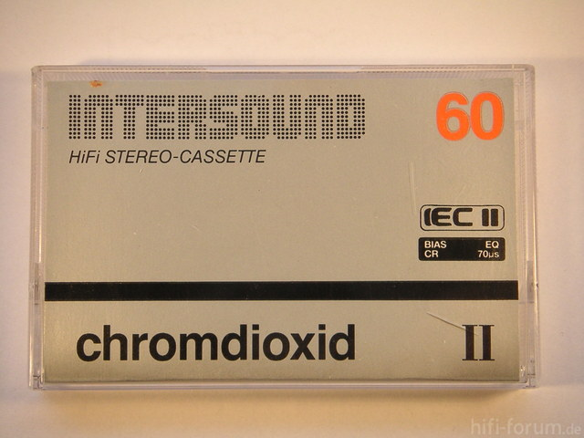 Intersound Chromdioxid II