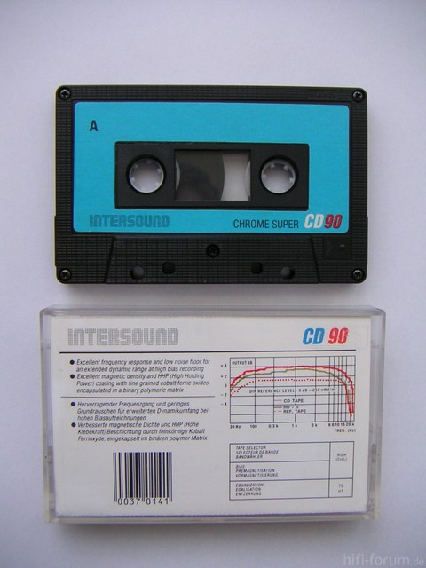 INTERSOUND CHROME SUPER CD90