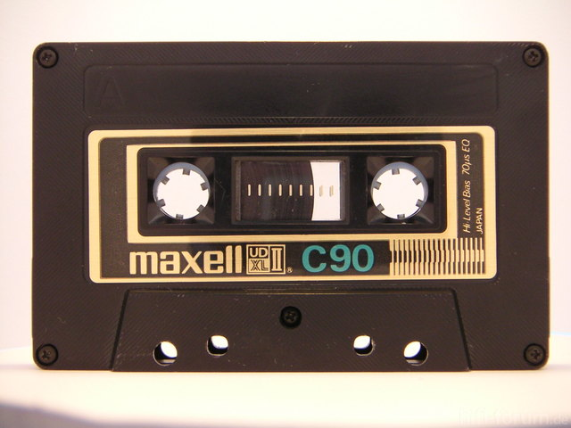 Maxell UD XL II Von 1980