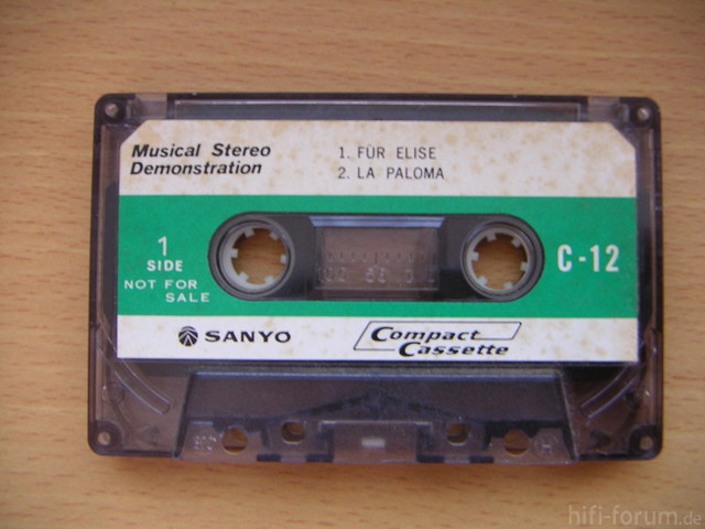 SANYO Demonstration Tape