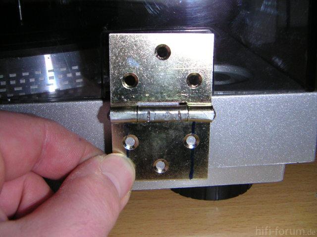 Scharnier für Sony PS - T22 Plattenspieler