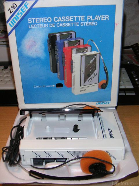 UNISEF Z-10 Walkman