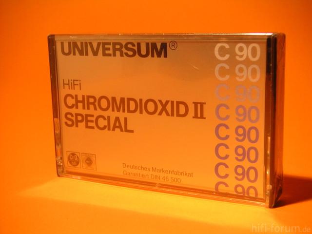 UNIVERSUM HiFi CHROMDIOXID II SPECIAL C90